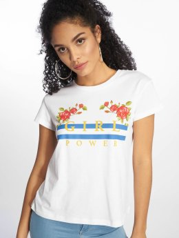 Mister Tee T-Shirt Girl Power white