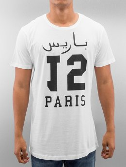 Mister Tee t-shirt Paris 15 Long wit