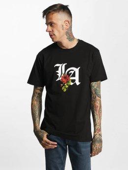 Mister Tee t-shirt LA Rose zwart