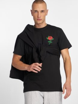 Mister Tee t-shirt Rose zwart