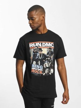 Mister Tee t-shirt Run DMC King of Rock zwart