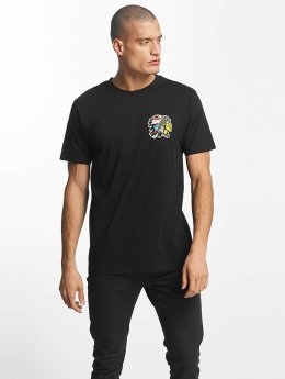 Mister Tee t-shirt Indian Logo zwart