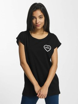 Mister Tee t-shirt Nope zwart
