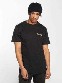 Mister Tee t-shirt Smoke zwart