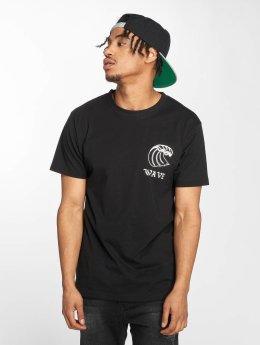 Mister Tee t-shirt Wave zwart