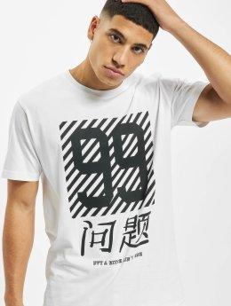 Mister Tee T-skjorter Chinese Problems hvit