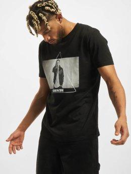 Mister Tee T-skjorter Eminem Triangle  svart