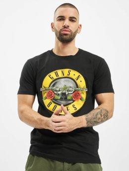 Mister Tee T-skjorter Guns´n Roses svart