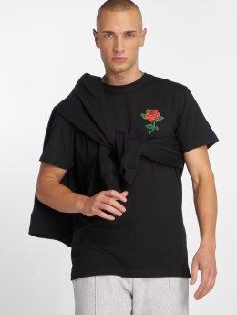 Mister Tee T-skjorter Rose svart