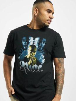 Mister Tee T-skjorter Tupac Heaven svart