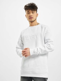 Mister Tee trui Embossed NASA Worm wit