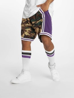Mitchell & Ness Шорты La Lakers Swingman камуфляж