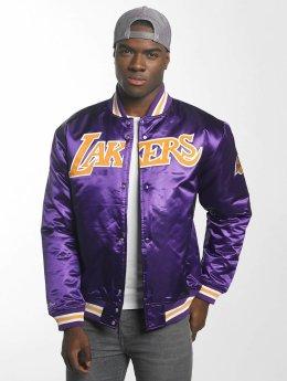 Mitchell & Ness Baseball jack HWC Team Los Angeles Lakers paars