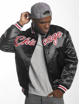 Mitchell & Ness Baseball jack HWC Team Chicago Bulls zwart