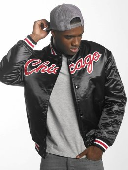 Mitchell & Ness College Jacke HWC Team Chicago Bulls schwarz
