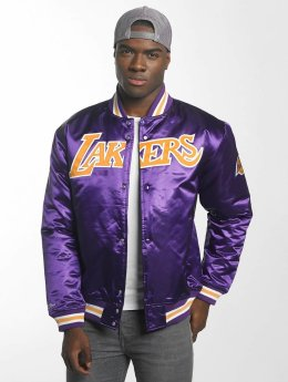 Mitchell & Ness College Jacke HWC Team Los Angeles Lakers violet
