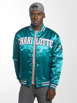 Mitchell & Ness College Jacket HWC Team Charlotte Hornets turquoise