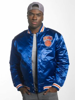Mitchell & Ness / Collegejackor HWC Team New York Knicks i blå