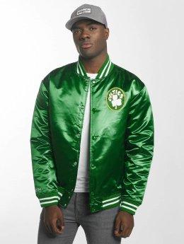 Mitchell & Ness / Collegejackor HWC Team Boston Celtics i grön