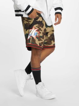 Mitchell & Ness Shorts Philadelphia 76ers Swingman kamouflage