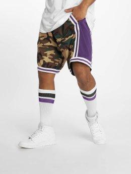 Mitchell & Ness Shorts La Lakers Swingman mimetico