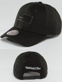 Mitchell & Ness Snapback Cap Hot Stamp Contrast nero