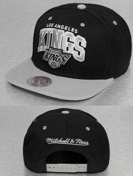 Mitchell & Ness Snapback Cap Team Arch 2 Tone LA Kings schwarz
