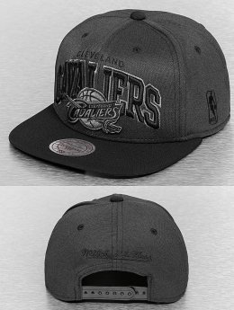 Mitchell & Ness Snapback Caps Resist 3D Arch harmaa