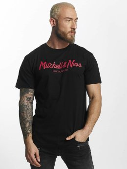 Mitchell & Ness T-Shirt Red Pop Tailored noir