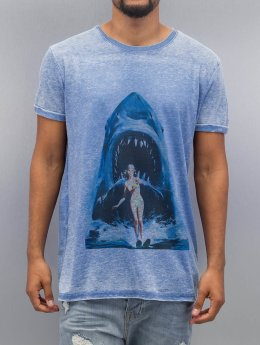 Monkey Business t-shirt Shark Ski76 blauw