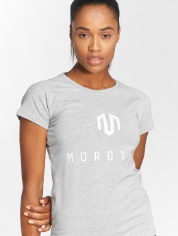 MOROTAI T-paidat Premium Basic Brand harmaa