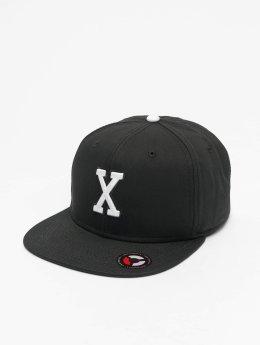 MSTRDS Snapback Caps X Letter musta