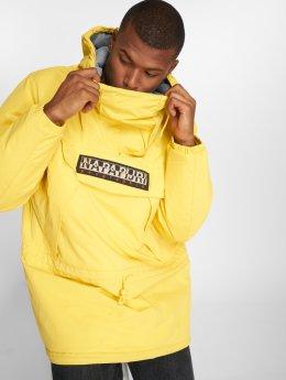 Napapijri Зимняя куртка Skiddo Tribe желтый