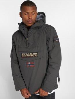 Napapijri Зимняя куртка Rainforest серый