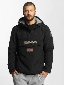 Napapijri Зимняя куртка Rainforest черный