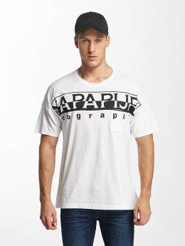 Napapijri T-shirt Saumur bianco