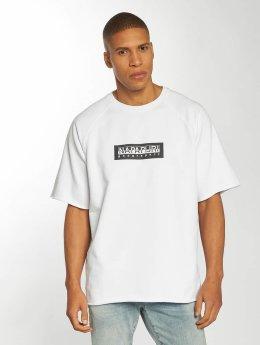 Napapijri T-skjorter Buka hvit
