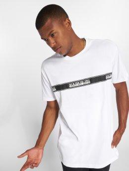 Napapijri T-skjorter Sagar hvit