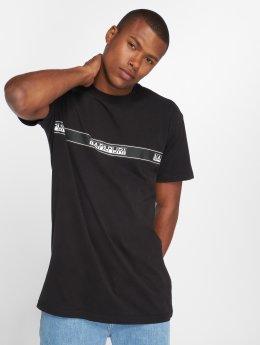 Napapijri T-skjorter Sagar svart