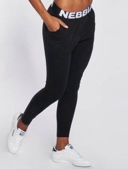 Nebbia Jogginghose Logo schwarz
