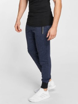 Nebbia Spodnie do joggingu Quilted niebieski