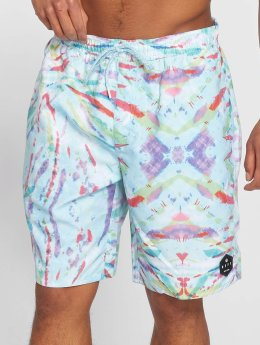 NEFF Badeshorts Daily Hot Tub blau