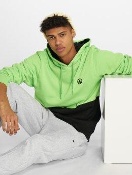 NEFF Bluzy z kapturem Split zielony