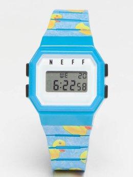 NEFF horloge Flava Wild blauw
