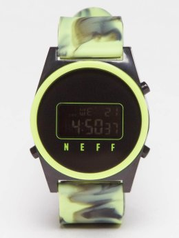 NEFF horloge Daily Digital groen
