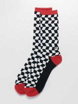 NEFF Ponožky Checkers čern