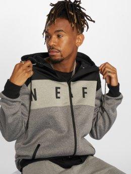NEFF Prechodné vetrovky Flint Softshell šedá