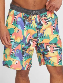 NEFF Short de bain Tropical Jungle multicolore