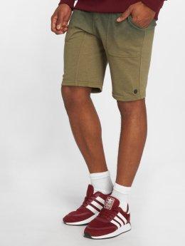 NEFF shorts Bunker Terry olijfgroen