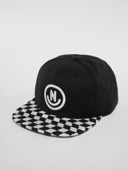 NEFF Snapback Cap Daily Smile Pattern black